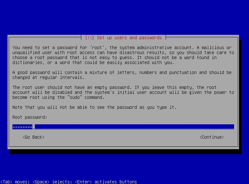 11 root password setup