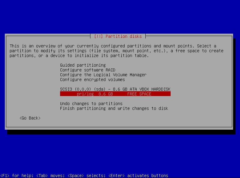 13c partition setup manual