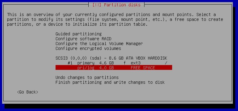 13q partiotion setup manual