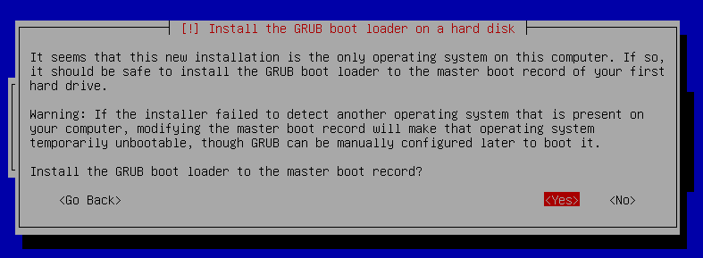 18 install boot loader - GRUB