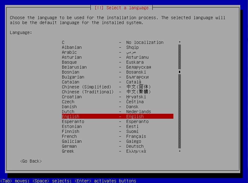 3 install language