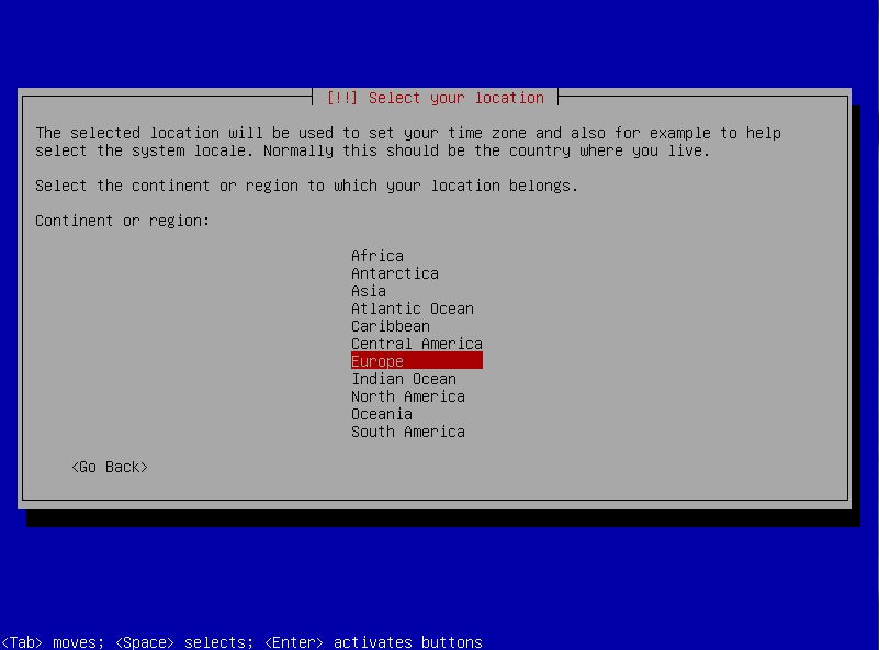 4b user location - non default