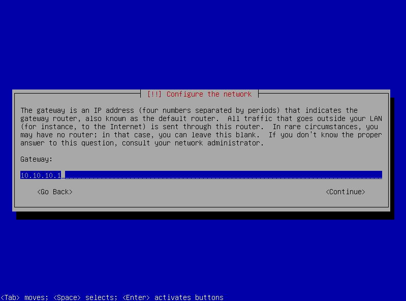 9b network setup - manual