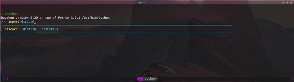 bpython